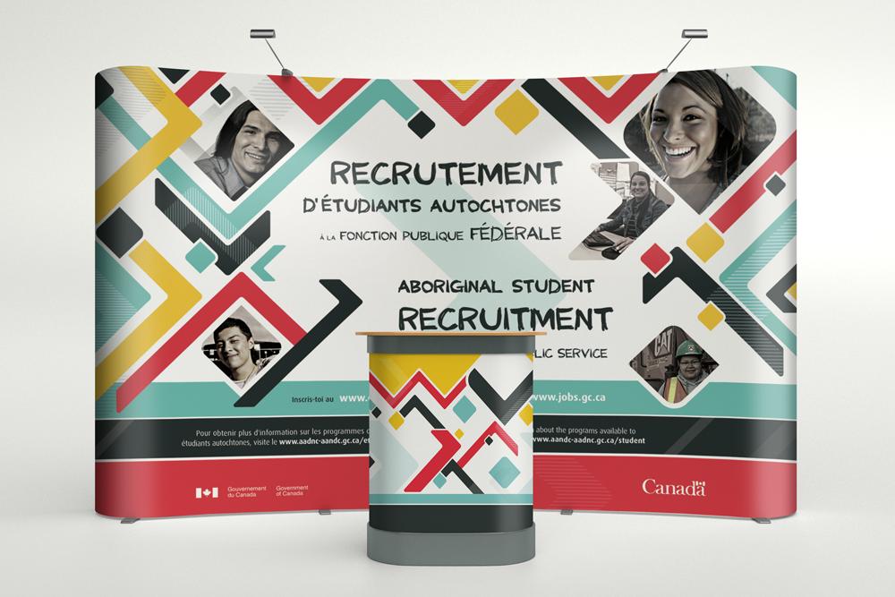 Recrutement d'étudiants autochtones